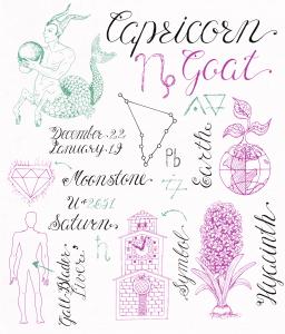Capricorn Symbols & Associations