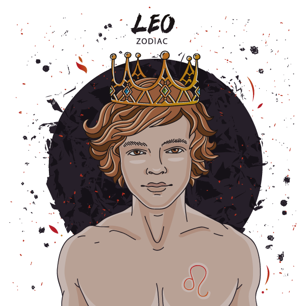 Somewhat Arrogant The Powerful Leo Man Would Have Been Right At Home In Days Of Old A Member Royalty Surrounded By Extravagance