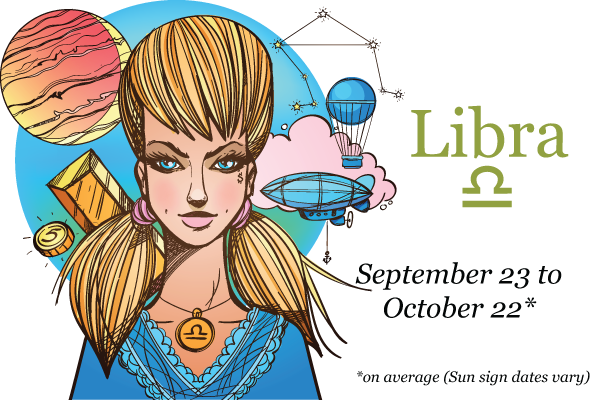 The Libra Woman - Sun sign dates