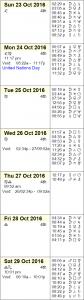 This Week in Astrology Calendar - October 23-29, 2016