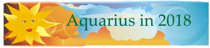 Aquarius in 2018