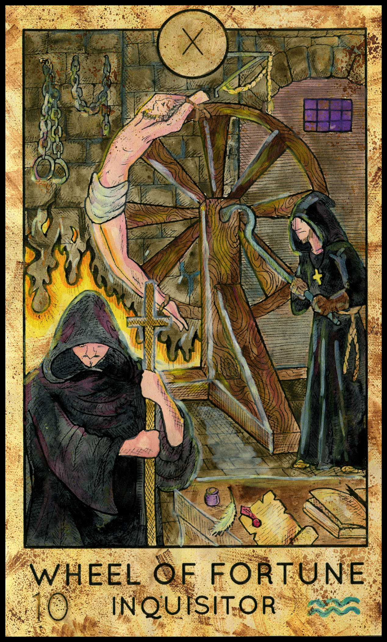 Tarot Oracle Answer: Wheel of Fortune (Fantasy)