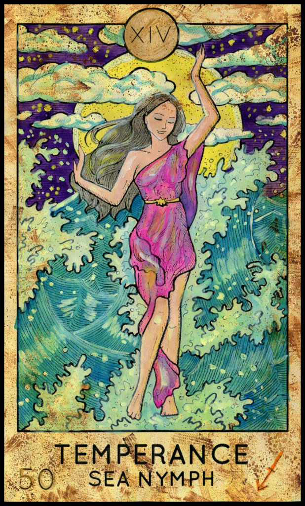 Tarot Oracle Answer: Temperance