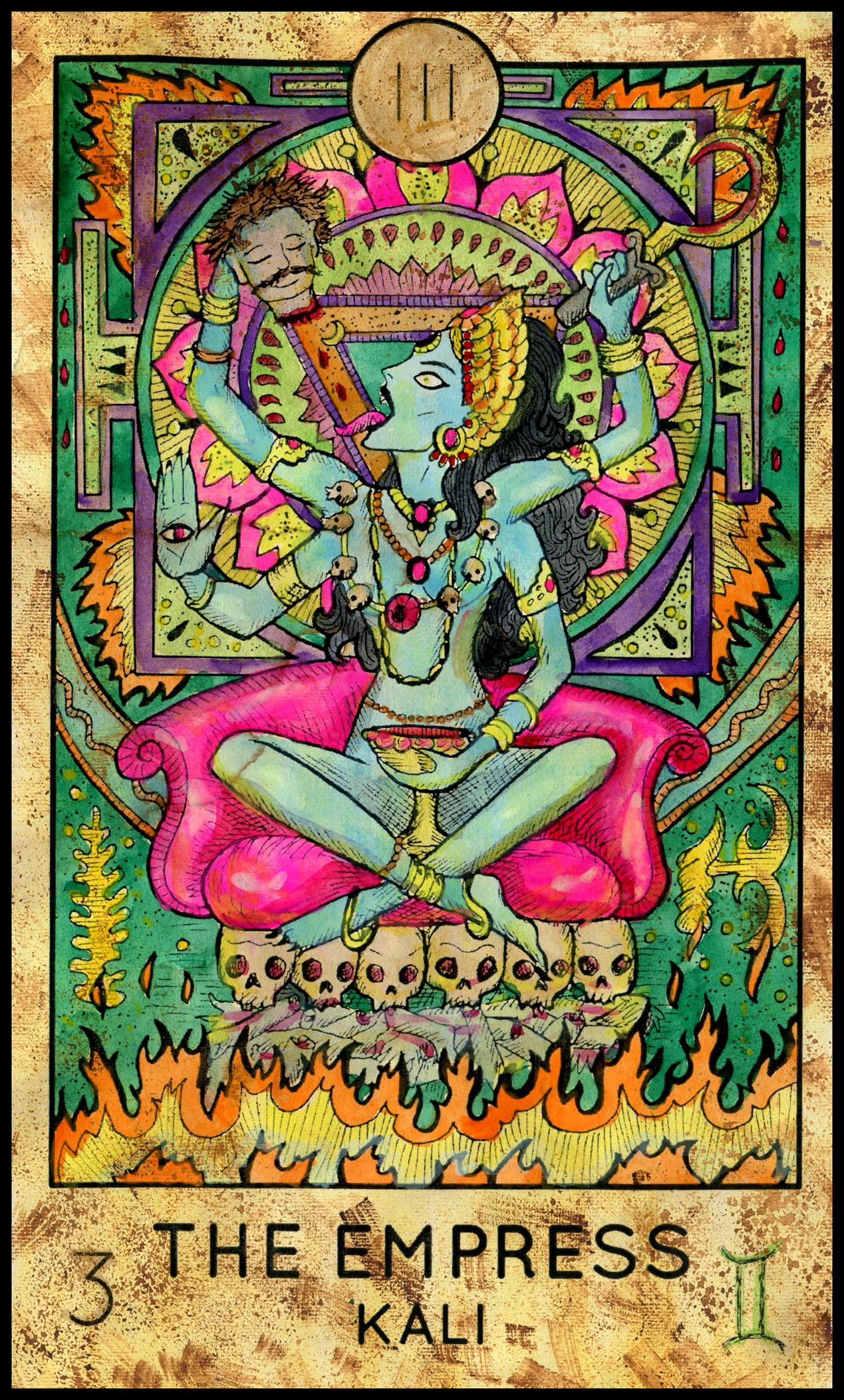Major Arcana: Tarot Oracle Answer: The Empress (Fantasy Deck