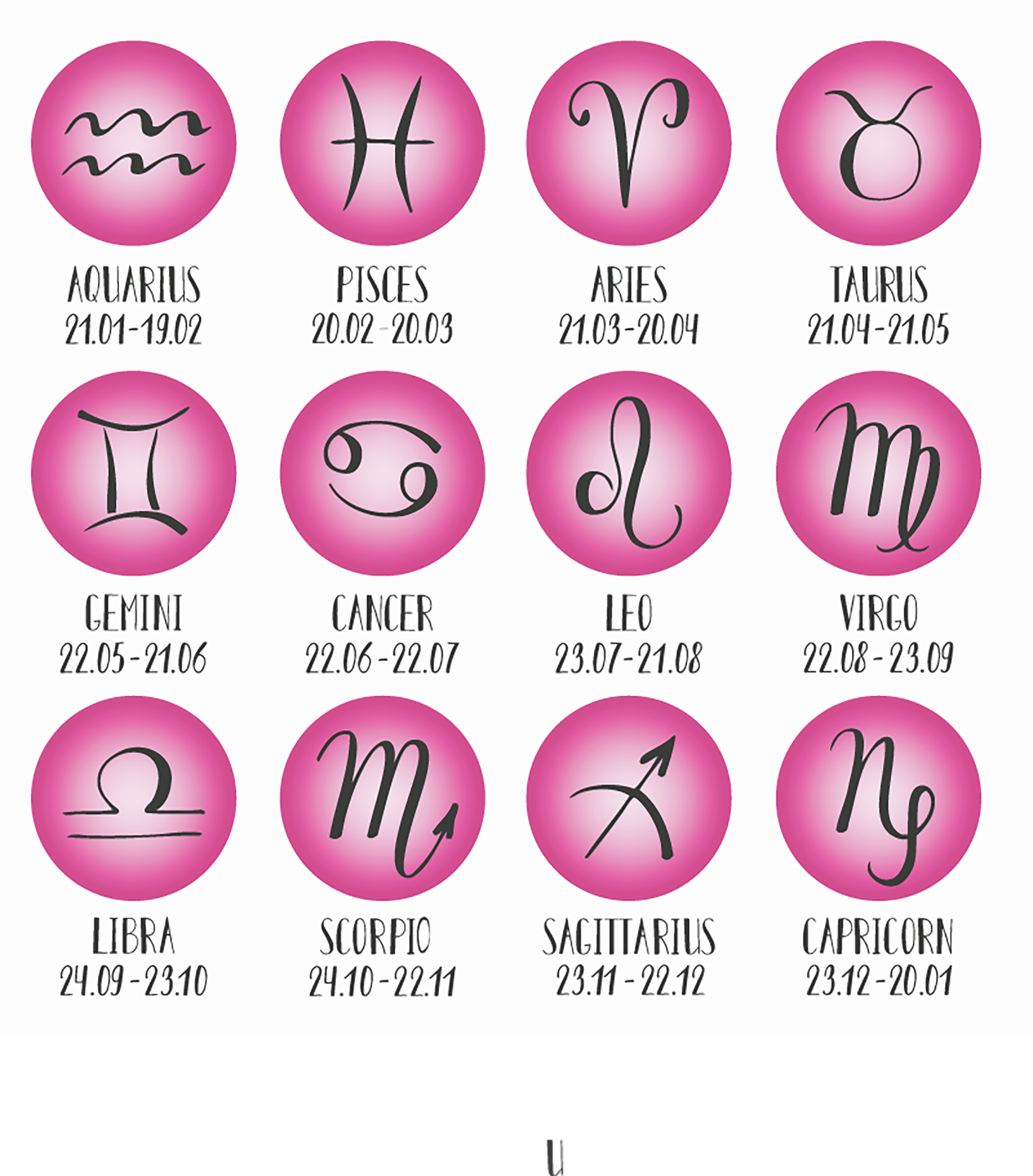 Horoscopes by Jamie Partridge