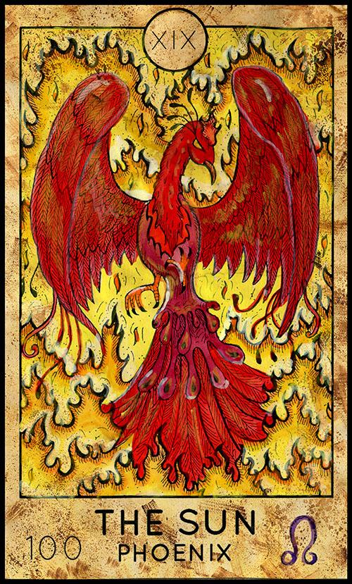 The Sun - Major Arcana #19 - Fantasy Deck