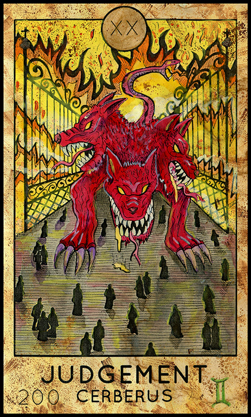 Major Arcana #20 - Judgment - Fantasy Tarot Deck