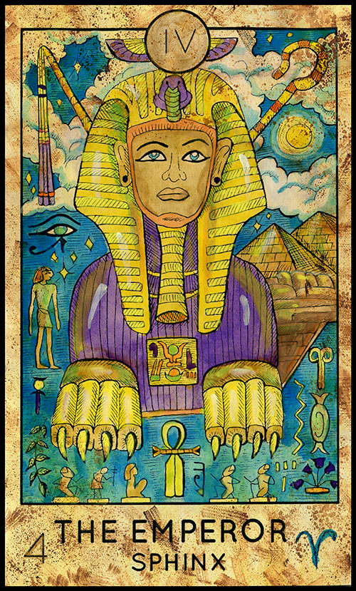 The Emperor: Fantasy Tarot Oracle Answer
